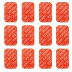 SIXPAD用 シックスパッド ジェルシート互換  高電導 ジェルシート12枚入/袋 4cm ×6cm×1.5cm (12枚)