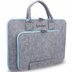 Ephram 13.3Inch ノートパソコンケース フェルト PCバッグ 衝撃防止 インナーケース ビジネスバッグ PC鞄 タブレット パソコンケース カ