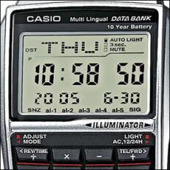 【レビューを書いて送料無料】【箱無し】海外CASIO 海外カシオ 腕時計 DBC-32D-1A メンズ データバンク
