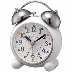 RHYTHM リズム時計 クロック 4RA479SR03 目覚まし時計 アビスコR479SR