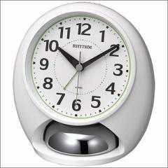 RHYTHM リズム時計 クロック 4RA480SR03 目覚まし時計 タフバトラーラウド