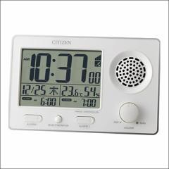 リズム時計 クロック 8RZ149-003 電波目覚まし時計 スーパークリアトーンF