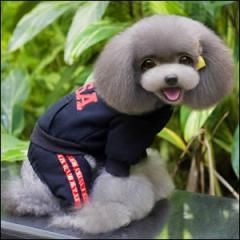 ドッグウエア USA Hoodie 秋 冬 犬用服 ペット用品 Black ブラック 黒 パーカー スウェット