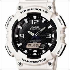 海外CASIO 海外カシオ 腕時計 AQ-S810WC-7A メンズ 5ALARMS アナデジ SOLAR ソーラー