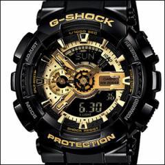 海外CASIO 海外カシオ 腕時計 GA-110GB-1A メンズ G-SHOCK Gショック Black×Gold Series ブラック×ゴールドシリーズ