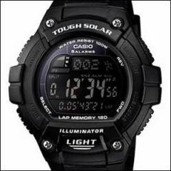 海外CASIO 海外カシオ 腕時計 W-S220-1B メンズ スポーツソーラーウォッチ