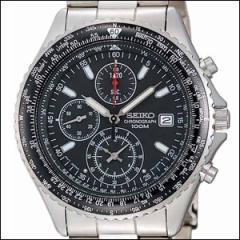 海外SEIKO 海外セイコー 腕時計 SND253P1 SND253PC メンズ パイロット クロノグラフ