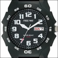 Q&Q キュー&キュー 腕時計 AA96-0010 -9 AA96 0010 メンズ FREE WAY フリーウェイ