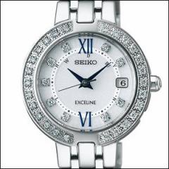 SEIKO セイコー 腕時計 SWCW083 レディース EXCELINE エクセリーヌ ソーラー 電波