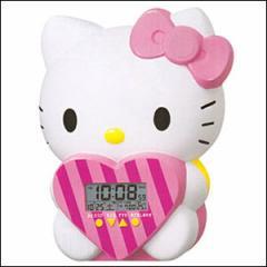 SEIKO セイコー クロック JF375A -9 JF375A 目覚まし時計 ハローキティー おしゃべり目覚まし時計