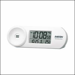 SEIKO セイコー クロック NR532W 電波時計 大音量 デジタル 目覚まし時計 WHITE ホワイト