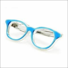 SWANK スワンク T0081 blue T0081 眼鏡型ネクタイピン