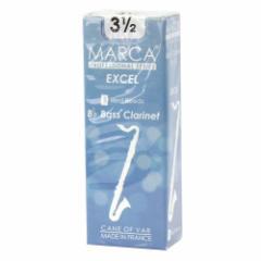 MARCA EXCEL バスクラリネット リード [3.1/2] 5枚入り