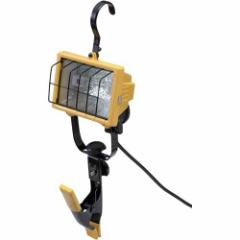 ハロゲンライト クリップ式 Caster 作業・警告・防犯灯 投光器・替え球CHC−250