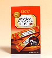 【送料無料】★まとめ買い★ UCC カフェインレスコーヒースティック 7P ×6個【イージャパンモール】