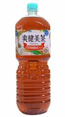 ★まとめ買い★ 爽健美茶スッキリブレンド 2L ×6個【イージャパンモール】