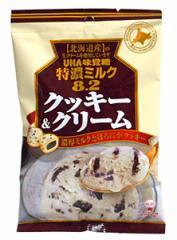 【送料無料】★まとめ買い★ UHA味覚糖 特濃ミルク8.2クッキー&クリーム 84g ×6個【イージャパンモール】