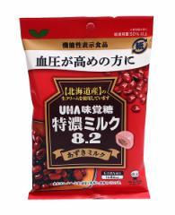 ★まとめ買い★ UHA味覚糖 機能性特濃ミルク8.2アズキミルク93g ×6個【イージャパンモール】