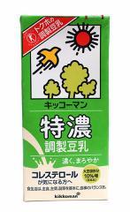 ★まとめ買い★ キッコーマン 調整豆乳特濃1000ml ×6個【イージャパンモール】