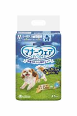 ★まとめ買い★ マナーウェア 男の子用 Mサイズ 小〜中型犬用 42枚 ×8個【イージャパンモール】