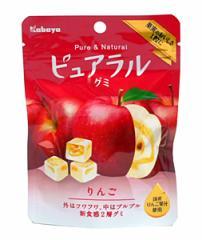 ★まとめ買い★ カバヤ ピュアラルグミ りんご味 45g ×8個【イージャパンモール】