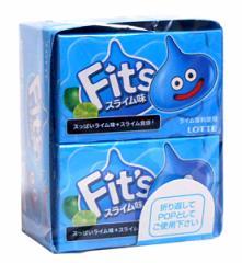 【送料無料】★まとめ買い★ ロッテ Fitsスライム味 12枚入 ×10個【イージャパンモール】