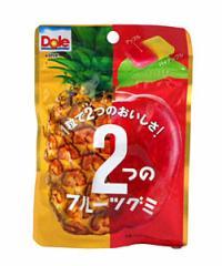 ★まとめ買い★ 不二家 ドール2ツノフルーツグミ パイン&アップル  ×10個【イージャパンモール】