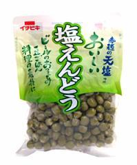 ★まとめ買い★ イチビキ 塩えんどう 140g ×12個【イージャパンモール】