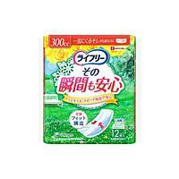 ユニ・チャーム ライフリー その瞬間も安心 12枚 ×12個【イージャパンモール】