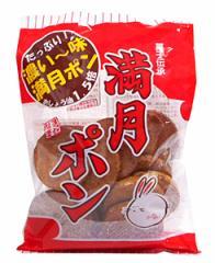 【送料無料】★まとめ買い★ 松岡製菓 濃い味満月ポン 80g ×12個【イージャパンモール】