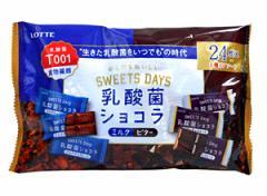 ★まとめ買い★ ロッテ 乳酸菌ショコラ アソートパック 96g ×18個【イージャパンモール】