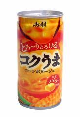 ★まとめ買い★ アサヒ コクうまコーンポタージュ185g缶 ×30個【イージャパンモール】