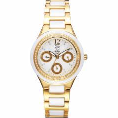 【送料無料】クリオブルー レディース腕時計 ホワイト W−CLL15228WT【代引不可】【ギフト館】