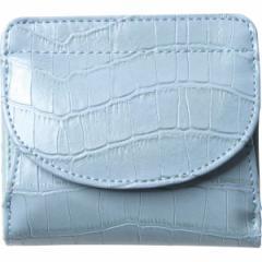 【送料無料】イルムス ホック式財布 ブルー S−IL1435BL【代引不可】【ギフト館】