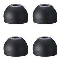 SONY ハイブリツドイヤーピース Lサイズ ブラック 1パック(4個)