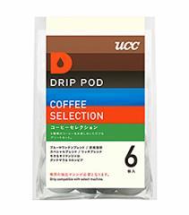 UCC DRIP POD コーヒーセレクション 6P 【イージャパンモール】