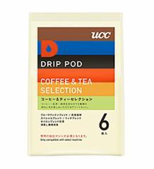 UCC DRIP POD コーヒー&ティーセレクション 6P 【イージャパンモール】