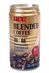 UCC ブレンドコーヒー 微糖 185g【イージャパンモール】