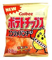 カルビー(株) ポテトチップス コンソメパンチ 28g【イージャパンモール】