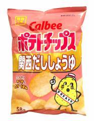 カルビー(株) ポテトチップス 関西だししょうゆ 58g【イージャパンモール】