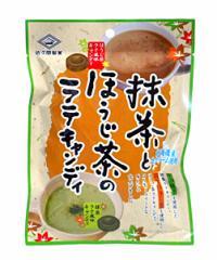 佐久間 抹茶とほうじ茶のラテキャンディ 75g【イージャパンモール】