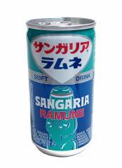 サンガリア サンガリアラムネ 190g缶【イージャパンモール】