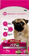 ウェルケア パグ専用 シニアステージ 3kg【イージャパンモール】