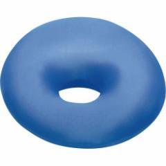 MOGU いろいろ便利な穴あきクッション 青 1個