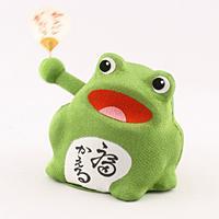 ゆらゆらソーラー カエル【返品・交換・キャンセル不可】【逸品館】