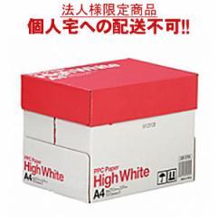 【送料無料】【A4サイズ】PPC PAPER High White A4 500枚×5冊/箱【法人(会社・企業)様限定】...
