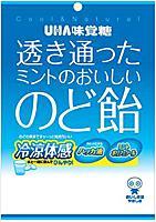 【送料無料】★まとめ買い★ 味覚糖 透き通ったミントのおいしいのど飴 ×6個【イージャパンモール】