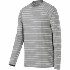 マムート(MAMMUT) クラッグ ロングスリーブ メンズ Crag Longsleeve Men 0941/stone-grey-melange-light-grey-melange 1041-06310 【ア