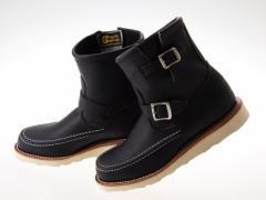 送料無料!! ≪即日発送可能商品≫ [チペワ] CHIPPEWA 7INCH HIGHLANDER 7インチ ハイランダー ブーツ BLACK ODESSA ワイズE #1901M07