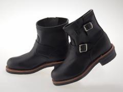 送料無料!! ≪即日発送可能商品≫ [チペワ] CHIPPEWA 7インチ スティール トゥ エンジニア ブーツ BLACK WHIRLWIND ワイズE #1901M10